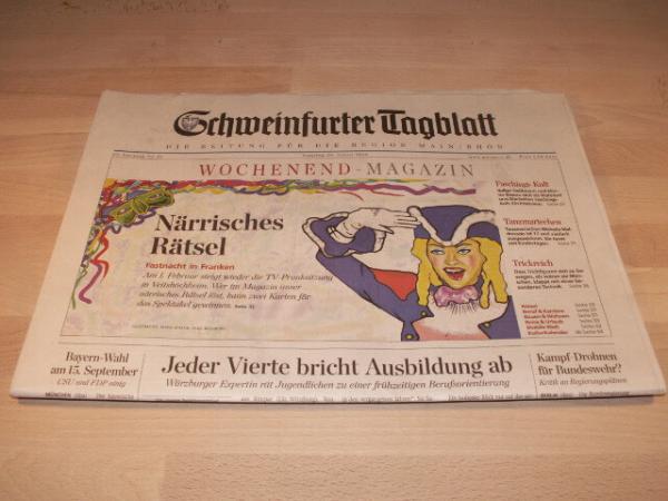 Schweinfurter Tagblatt Trauer